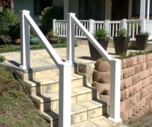 PVC Balustrade Hand Rails