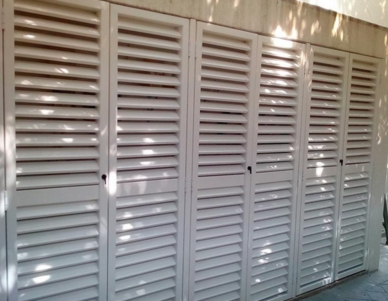 PVC Decorative Shutters, Louvres & Doors